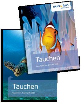 Tauchen Katalog Titel 2015 + 2016