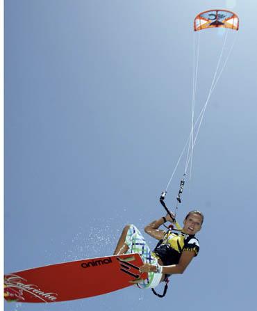 Kiten auf Fuerte