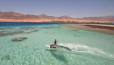 Surfen in Dahab