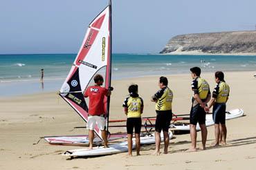 Surfunterricht auf Fuerte