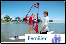 Surfreisen für Familien