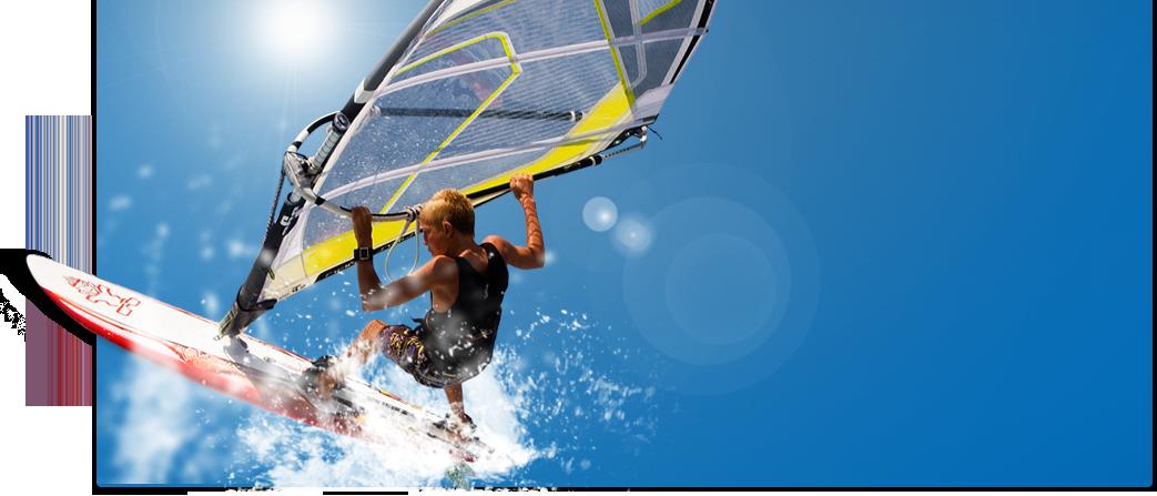 Windsurfen mit sun+fun. Traumurlaub zum Abheben ;-)