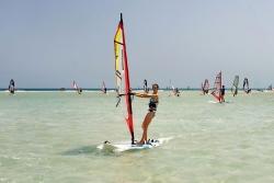 Fuerteventura - René Egli Windsurf Schulung in der Lagune