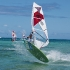 Mauritius - Le Morne - Club Mistral Windsurfing, Freestyle Action Lagune