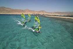 Dahab - Harry Nass Windsurf Action