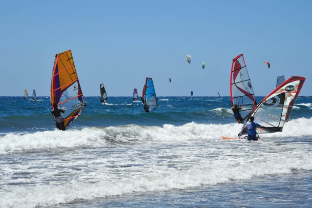 Teneriffa, El Medano, Surfcenter Playa Sur, Revier