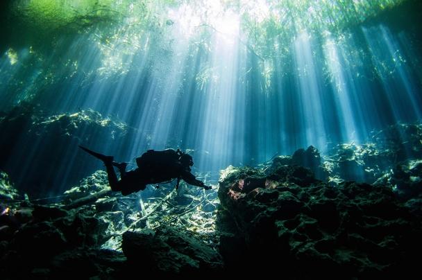Mexiko Unterwasser Cenoten © Planet Scuba