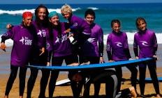 Wellenreitcamp in Frankreich für Familien - Surfurlaub mit Kindern