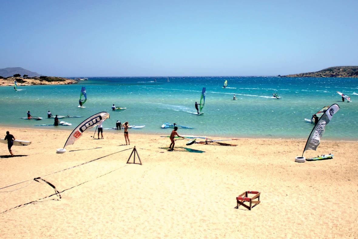 ION CLUB Karpathos Windsurfing Center Lagune/Chicken Bay