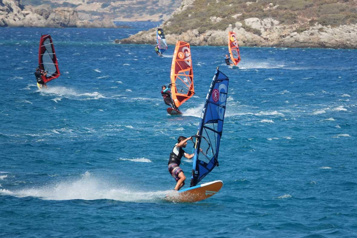 Meltemi Windsurfing Karpathos Devils Bay