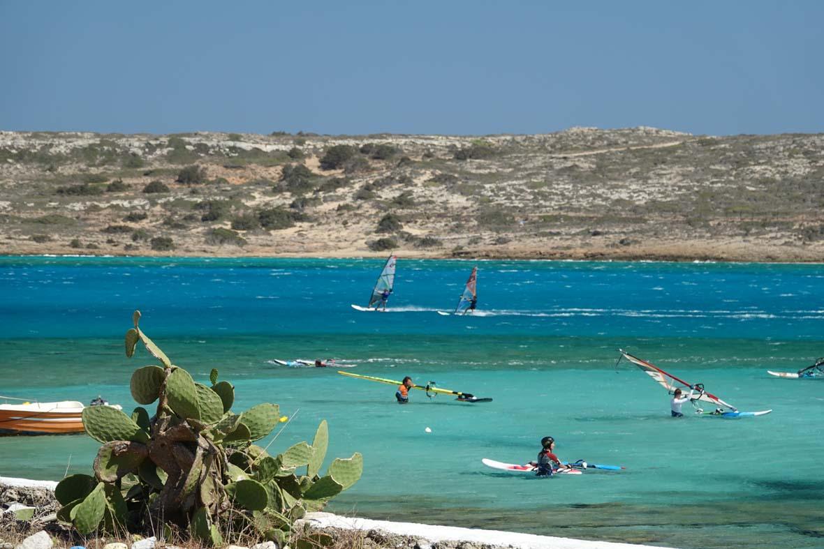 Meltemi Windsurfing Karpathos Lagune/Chicken Bay