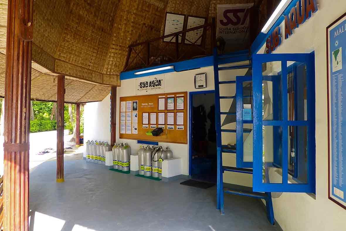 SUB AQUA Dive Center Thulhagiri