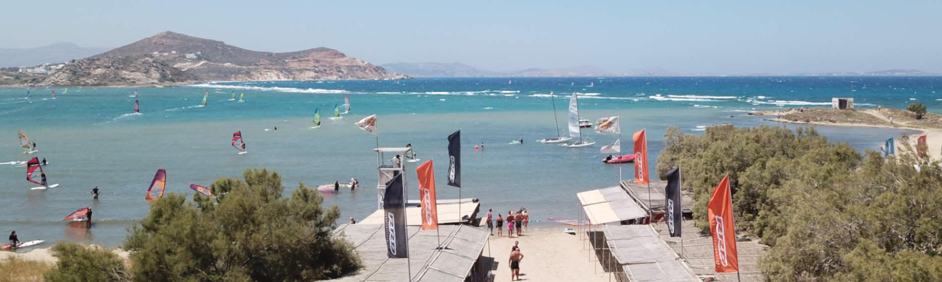 Header Naxos Surf Lagune.