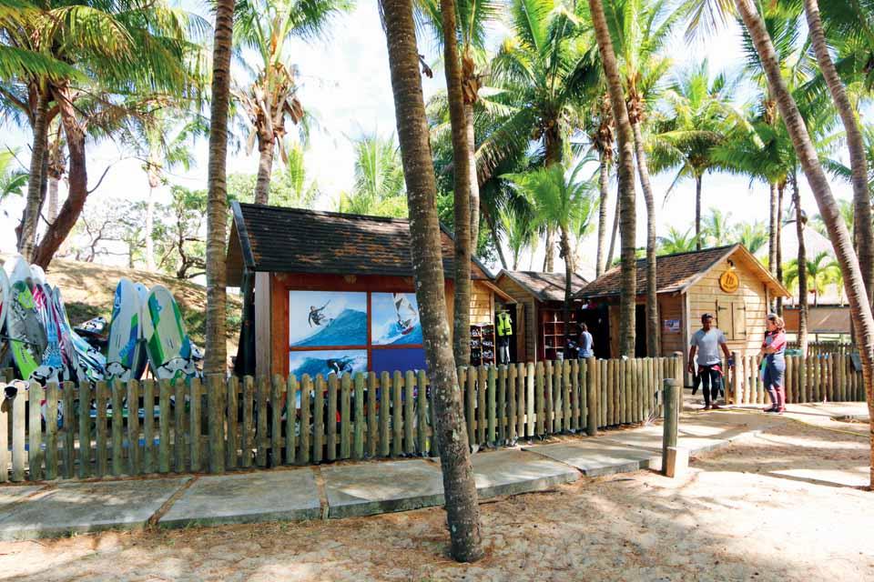 ION CLUB Mauritius Le Morne Windsurfing Center