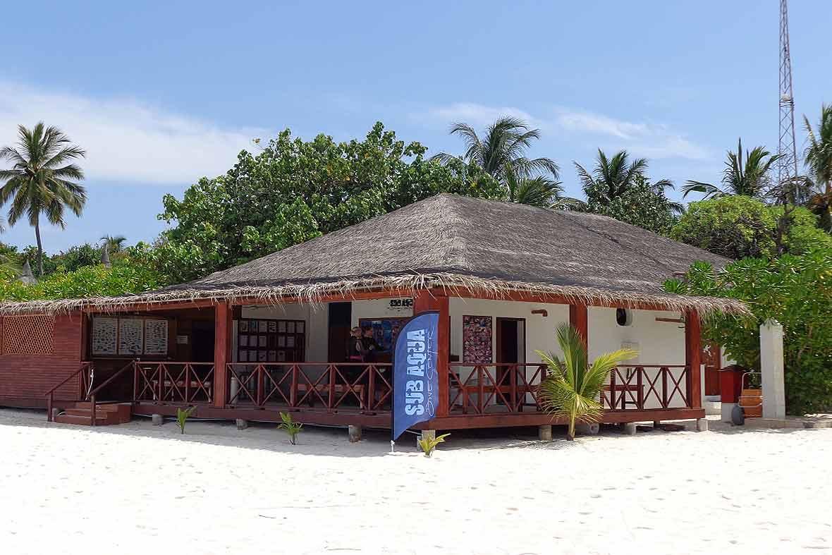 SUB AQUA Dive Center Angaga