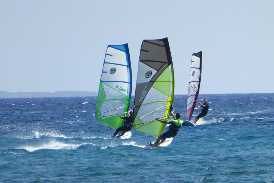 Wassersport - Surfen, Segeln, SUP Kos