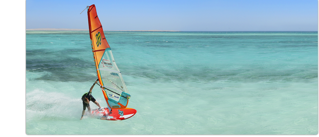 Windsurfen mit sun+fun. Traumurlaub vom Spezialisten