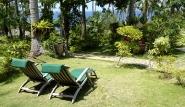 Mindoro - Coco Beach, Garten