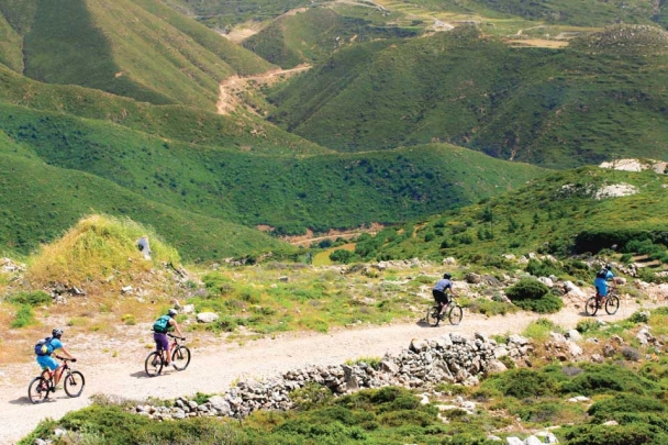 Karpathos - ION CLUB, Mountainbike Ausflug