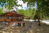 Nordsulawesi - Murex Bangka Resort, Restaurant Außenanischt