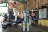 Bonaire - Buddy Dive Center, Abfahrt