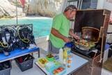 Griechenland, Zakynthos - Nero Sport, Tauchboot Mittagessen