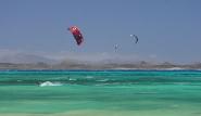 Fuerteventura Nord, Flag Beach, Kite Action