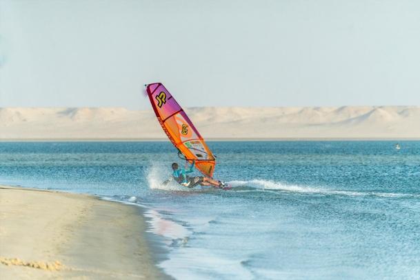 Dakhla - Freak Windsurfing am Speed Spot
