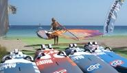 Rhodos Trianda - Neuestes Surf Material