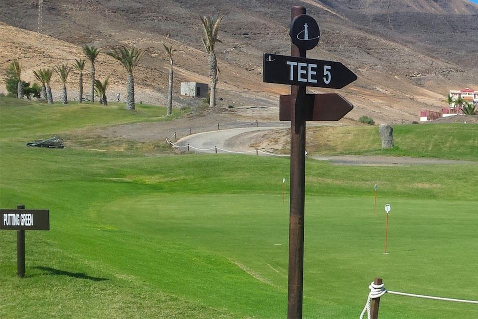 Fuerteventura - Jandia Golf, Putting Green