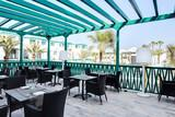 Lanzarote - Barceló Teguise Beach, Restaurant Terrasse