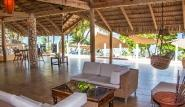 Cabarete, Villa Taina, Lounge Terrasse
