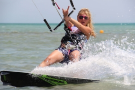 El Gouna - Girls Kiteaction