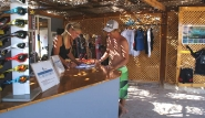El Gouna - Osmosis Kiteboarding, Rezeption und  Shop
