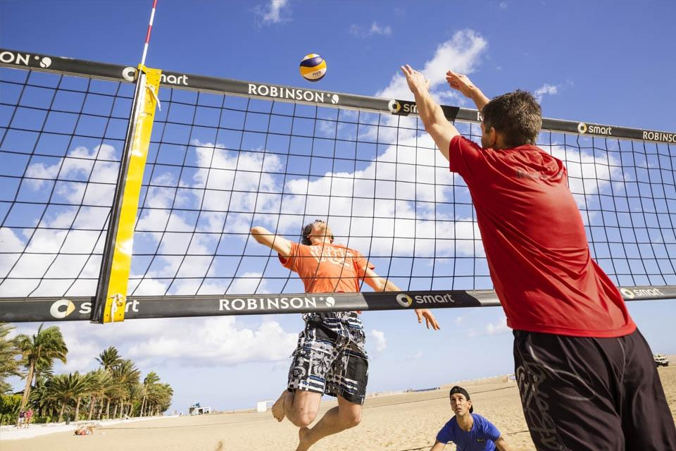 Fuerteventura - ROBINSON Club Jandia Playa, Beachvolleyball am Strand