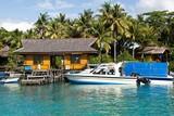 Kalimantan-  Nabucco Island Resort, Jetty