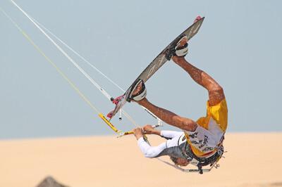 Jericoacoara Kite-Action