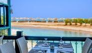 El Gouna, Club Paradisio, Marco Polo Restaurant mit tollem Meerblick