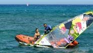 Lanzarote - Windsurfing Club Las Cucharas, Rettung in Not