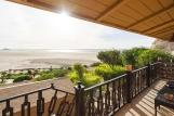 Dakhla Nord - Dakhla Attitude Hotel, Aussicht Balkon Dragon Camp