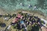 Moalboal - Magic Island Resort, Aerial View