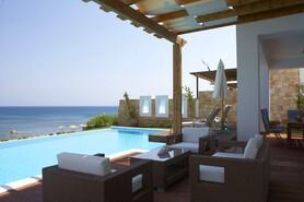 Rhodos Prasonisi - Atrium Prestige, Bungalow Meerblick, private Pool