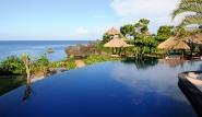 Bali - Alam Batu, Pool mit Meerblick