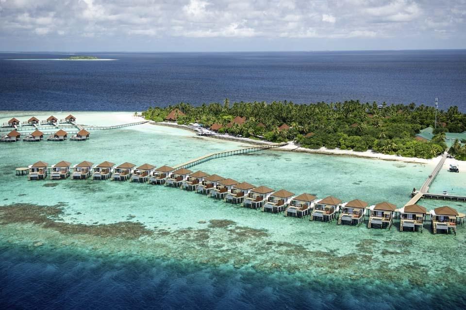 Malediven - ROBINSON Club Maldives, Übersicht Anlage