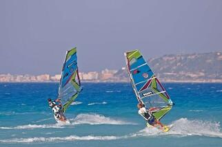 Surfaction auf Rhodos / Trianda
