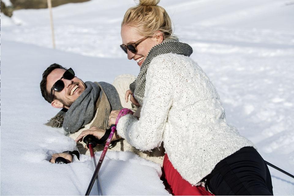 Arosa - ROBINSON Club, Schneeschuhwandern, Spaß zu Zweit
