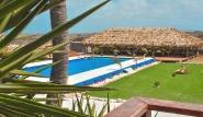 Bonaire - Sorobon Apartments, Garten mit Pool