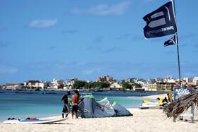 Boa Vista - Surf Station am Strand