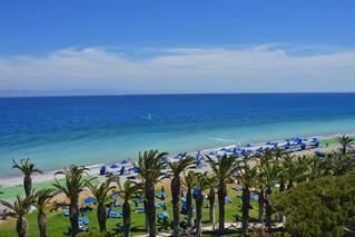 Rhodos Trianda - Blue Horizon,  Blick zum Surfspot