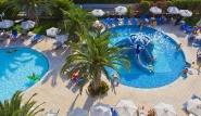 Rhodos Trianda - Sun Beach Resort, Kinderpool von oben